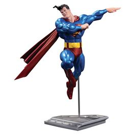 Estatua Superman DC Comics metalico version Frank Miller