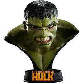 Busto Hulk Marvel escala real