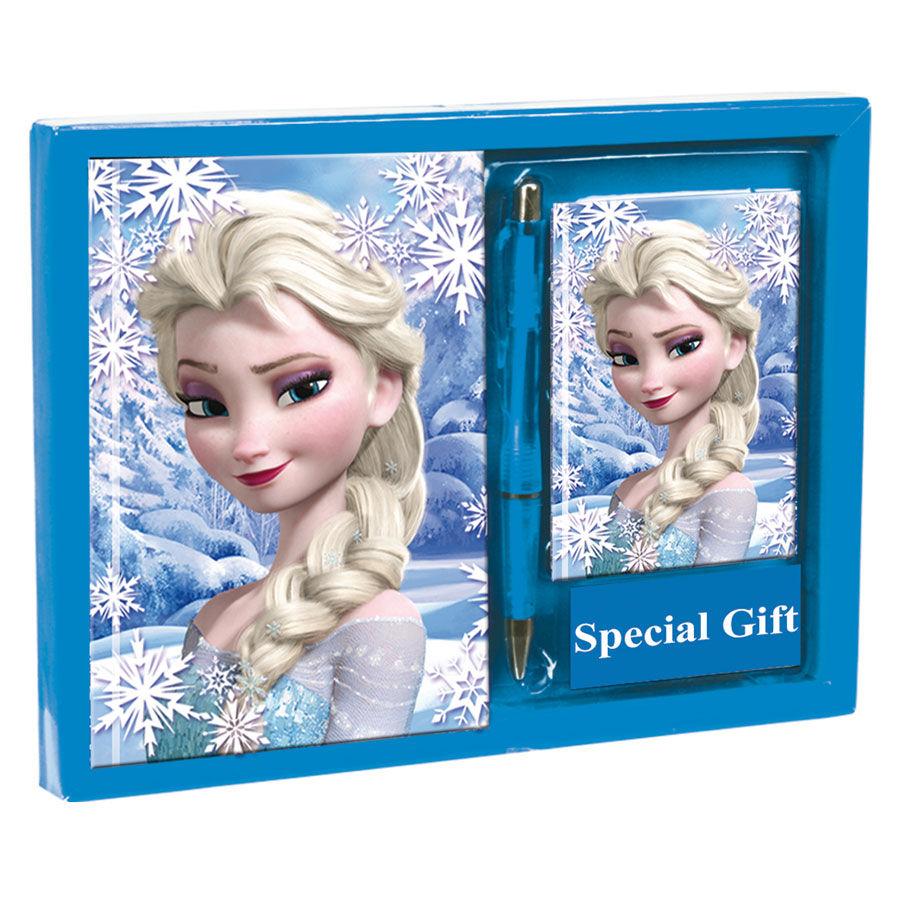 Set diario + listin Frozen Disney Heart
