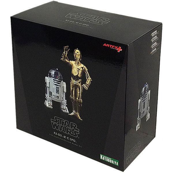 Set 2 figuras C-3PO & R2-D2 Star Wars ArtFX+ (2)