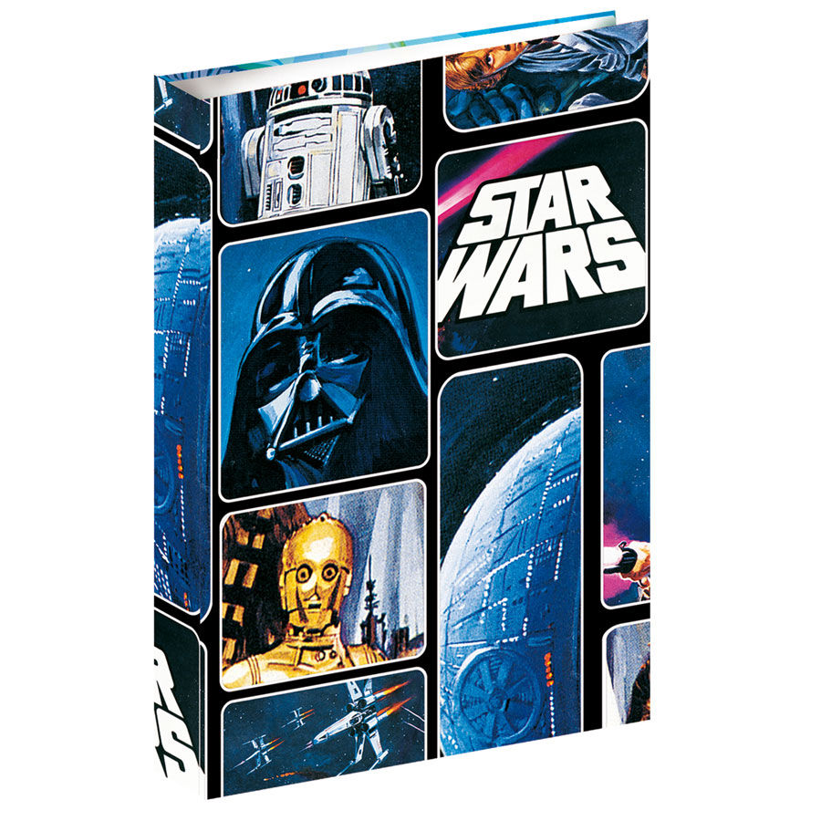 Carpeta Star Wars Space A4 anillas