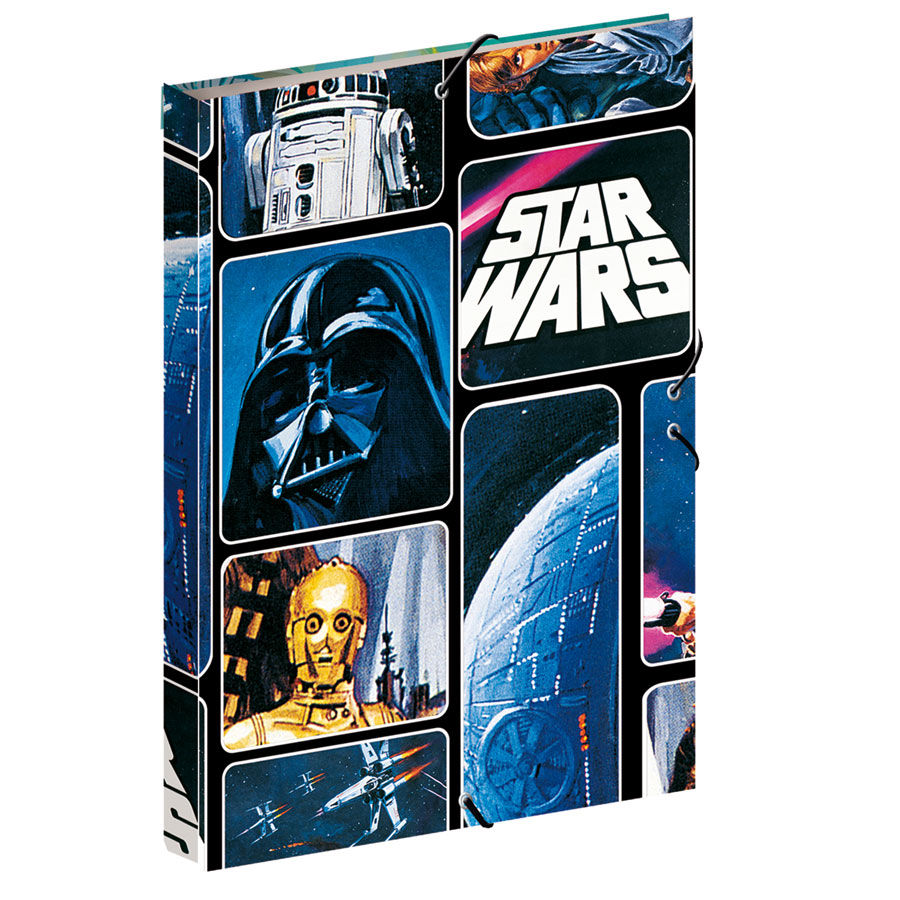 Carpeta Star Wars Space A4 solapas