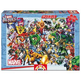 Puzzle Superheroes Marvel 1000