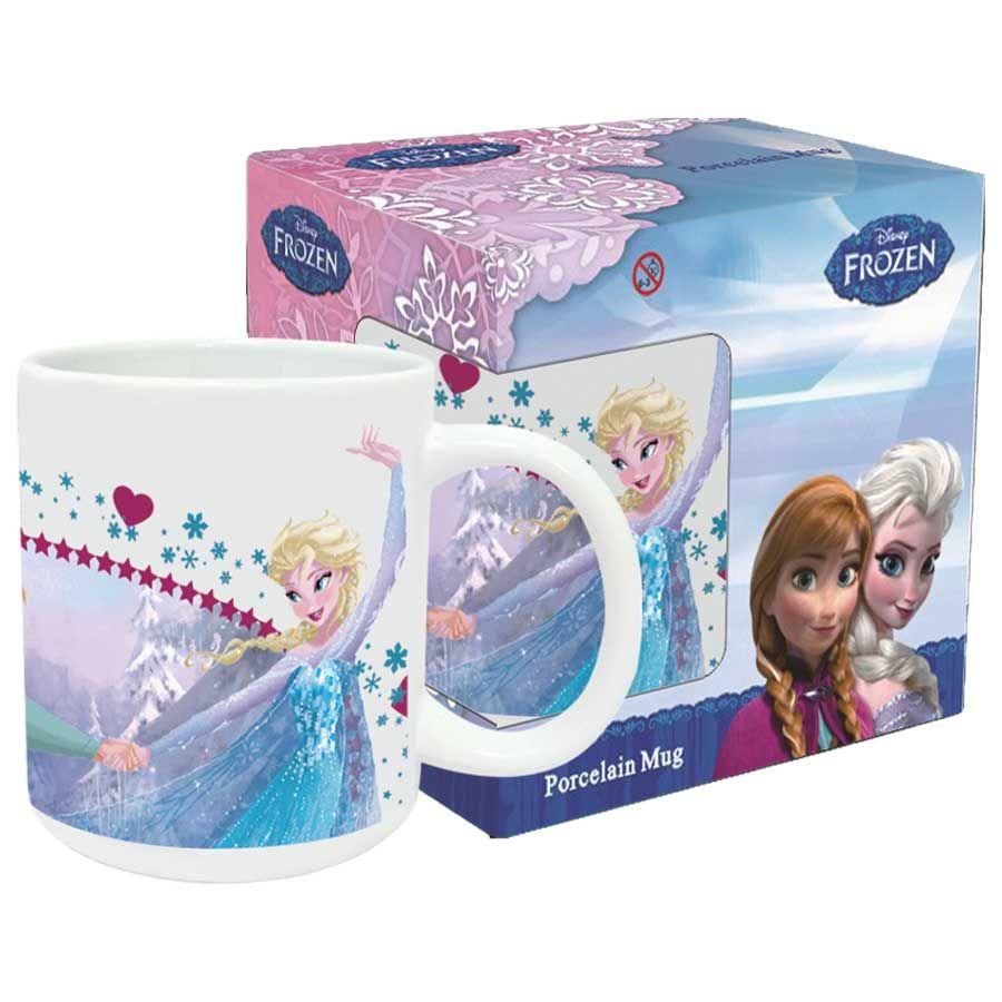 Taza Frozen Disney Forever Sisters ceramica 8435333831335