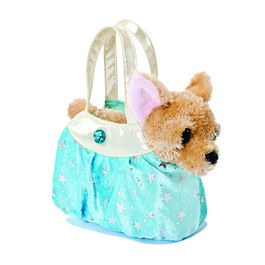 Peluche Fancy Pal Chihuahua Hielo Azul Brillante