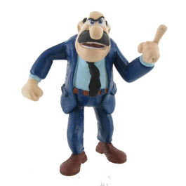 Figura Superintendente Mortadelo y Filemon