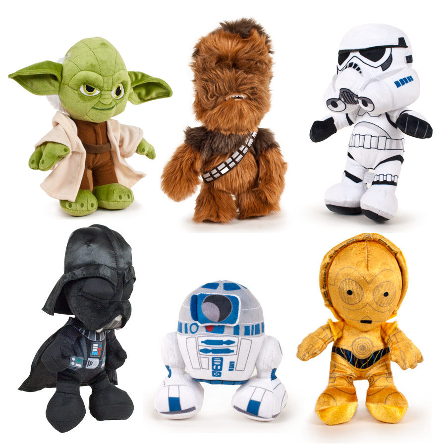 peluche star wars classic soft 29cm surtido ociostock. Black Bedroom Furniture Sets. Home Design Ideas
