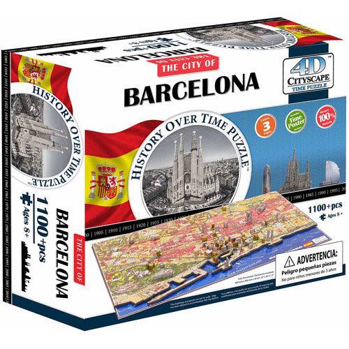 Puzzle 4D ciudades Barcelona