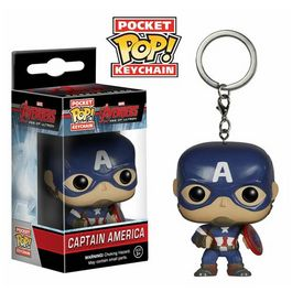 Llavero Pocket POP Capitan America Vengadores Avengers Age of Ultron