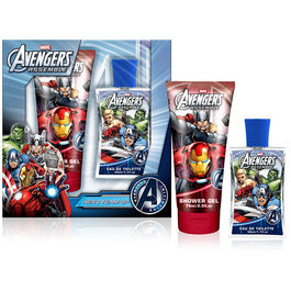 Set colonia gel ba�o Vengadores Avengers Marvel Asemble