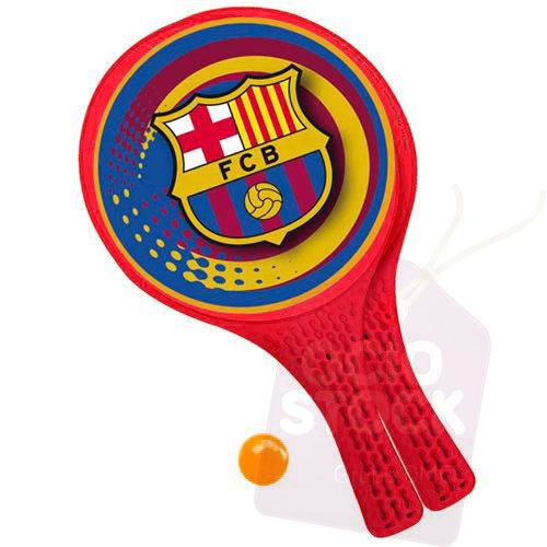 Palas + pelota FC Barcelona 8001011158683