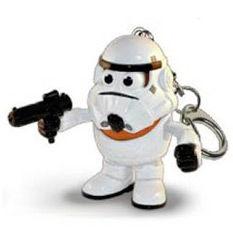 Llavero Mr. Potato Poptaters Star Wars Stormtrooper 801452506863