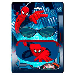Blister funda + gafas sol Spiderman Marvel Ultimate