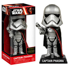 Figura POP Wacky Wobbler Star Wars Capitan Phasma Episodio VII