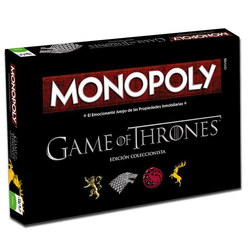 Monopoly Juego de Mesa Tronos Hasbro