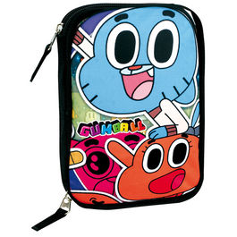 Plumier Gumball doble 12pz
