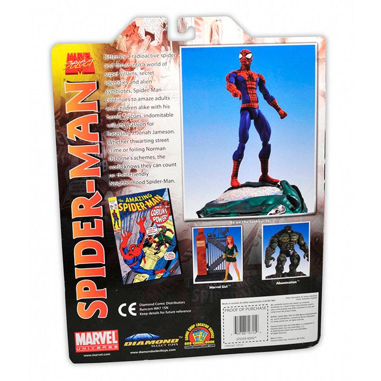 Figura Spiderman Marvel 18cm (3)
