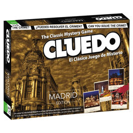 Cluedo game Madrid