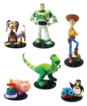 Capsula figura surtido Toy Story Gacha c06da265328