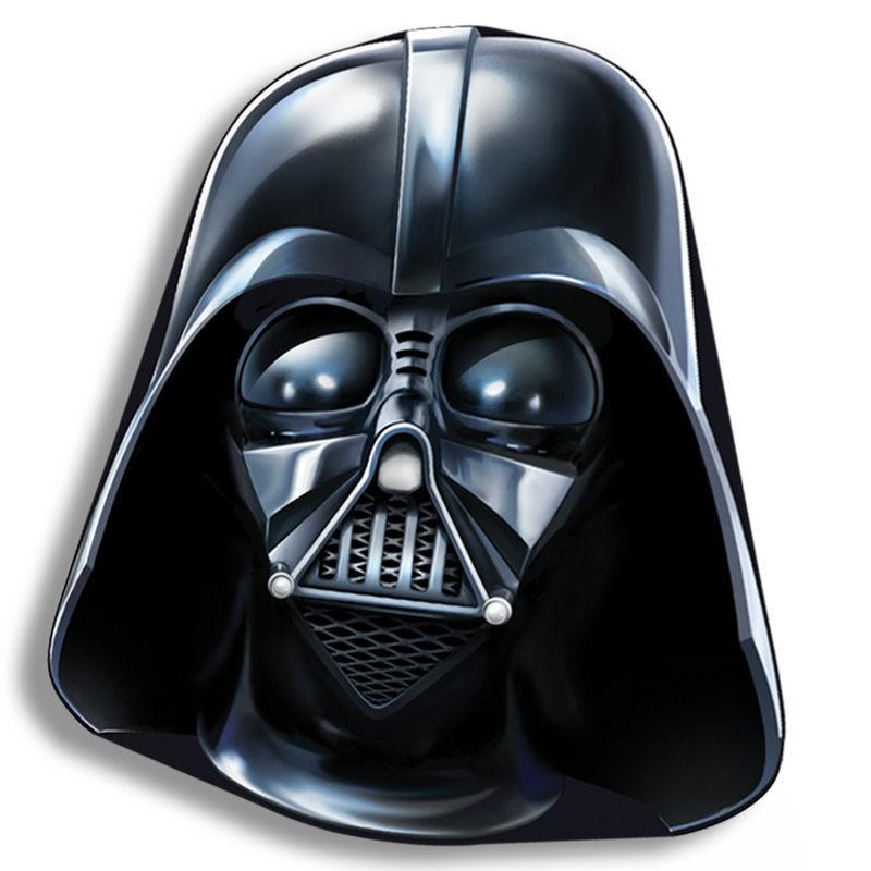 Cojin Star Wars forma Darth Vader 40cm velour