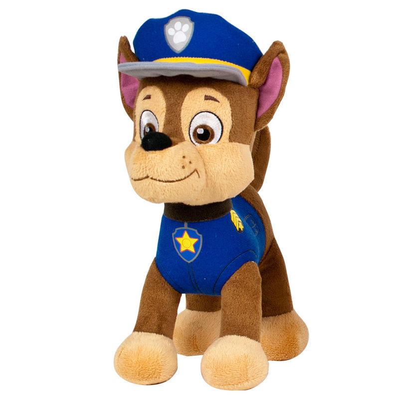 Peluche Chase Patrulla Canina Paw Patrol soft 27cm 84256113865277772azul