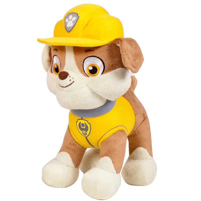 Peluche Rubble Patrulla Canina Paw Patrol soft 27cm 84256113865277772amarillo