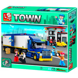 Truck and gas station set 537pz