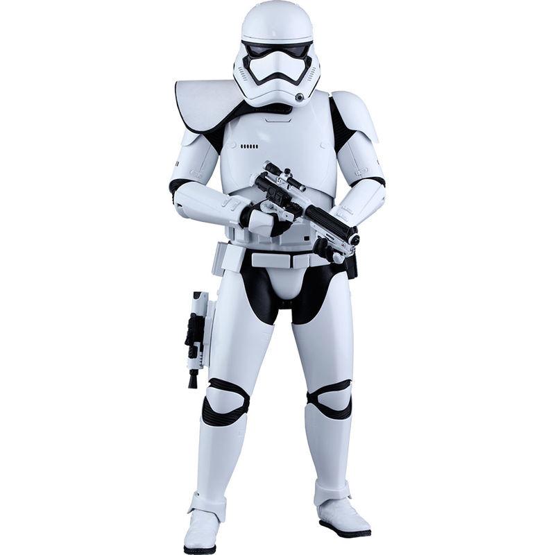 Figura First Order Stormtrooper Squad Leader Star Wars Episodio VII Sixth Scale 30cm