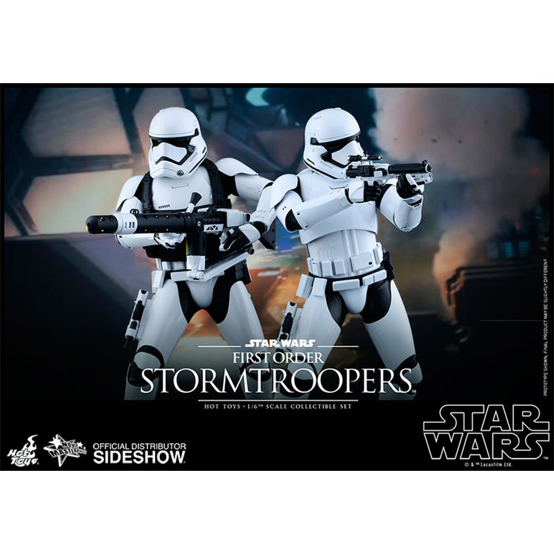 Figura First Order Stormtroopers Set Sixth Scale Star Wars Episodio VII (5)