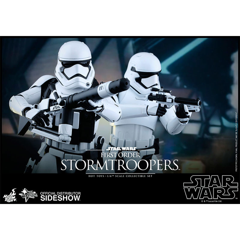 Figura First Order Stormtroopers Set Sixth Scale Star Wars Episodio VII (6)