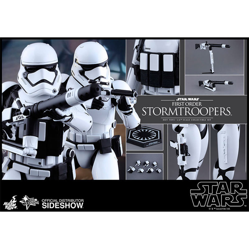 Figura First Order Stormtroopers Set Sixth Scale Star Wars Episodio VII (7)
