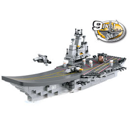 Aircraft carrier 9 in 1 1001pz