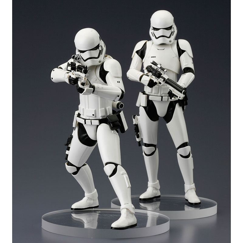 Set figuras Stormtrooper First Order Star Wars ArtFX+