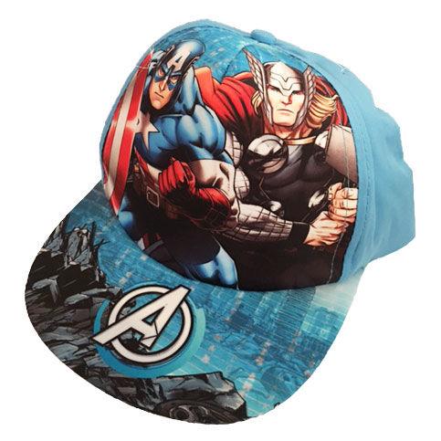 Gorra Vengadores Avengers Marvel visera plana - OcioStock ... ae4f414b727