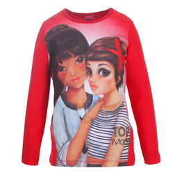 Camiseta Top Model Friends red