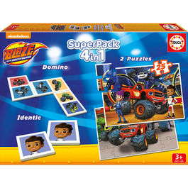 Superpack Blaze and the Monster Machine 4 en 1