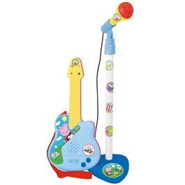 Peppa Pig guitar and microphone