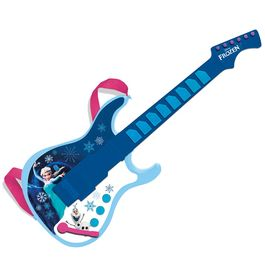 Guitarra electronica Frozen Disney salida mp3