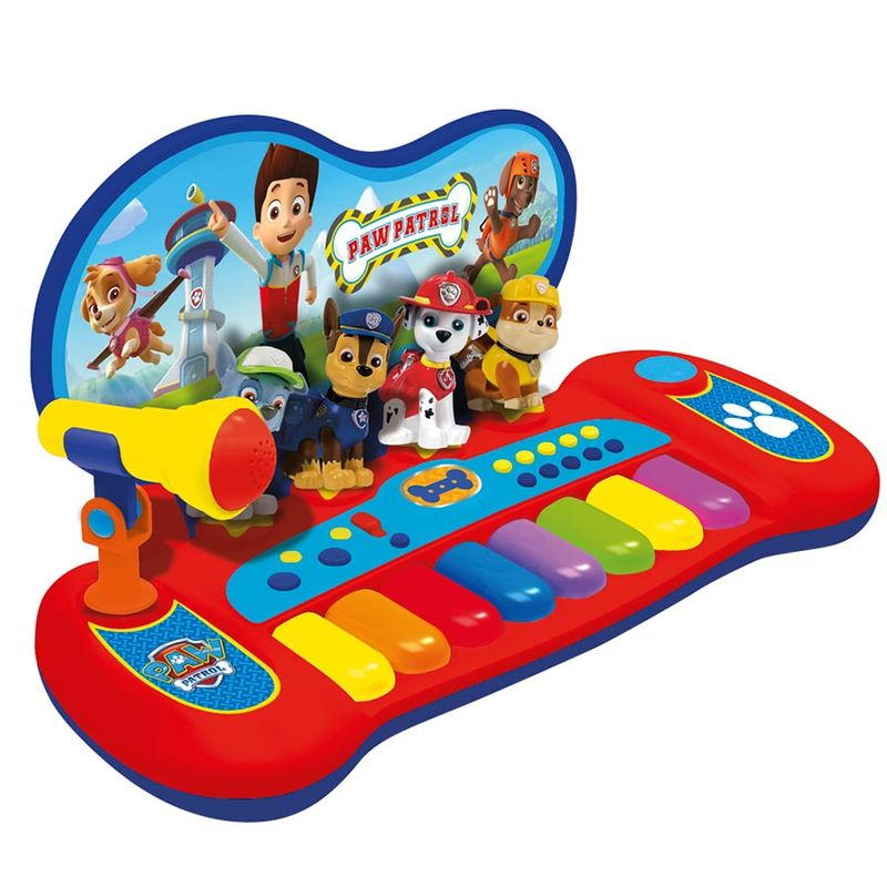 how to play paw patrol on piano