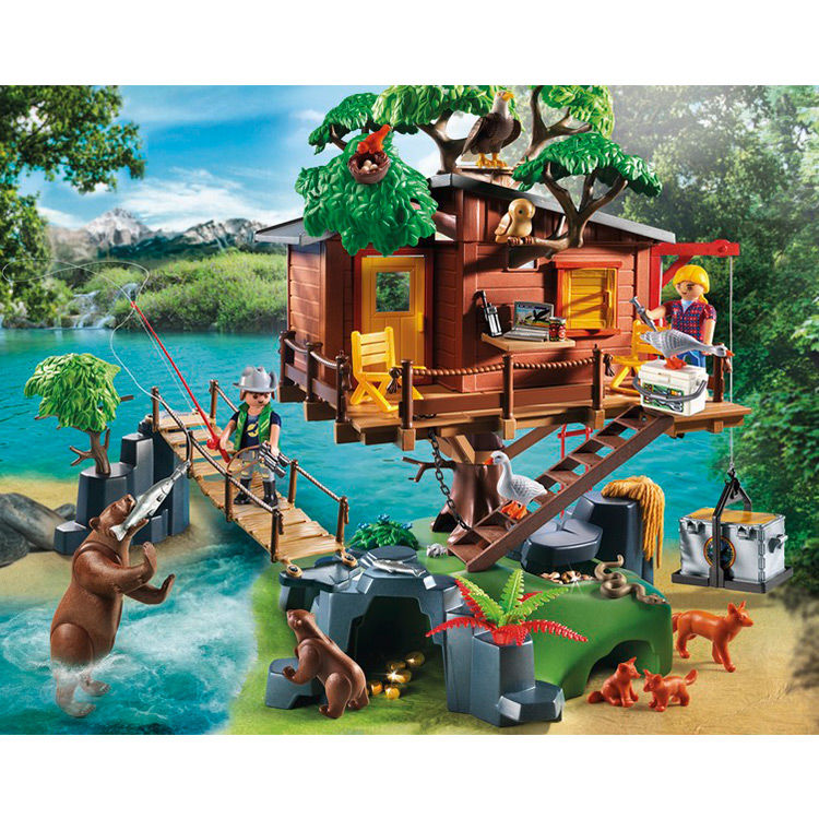Casa del Arbol de Aventuras Playmobil Wild Life (1)