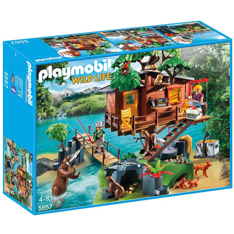 Casa del Arbol de Aventuras Playmobil Wild Life