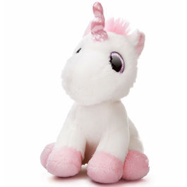 Plush Toy Unicorn White Candies Aurora 18cm