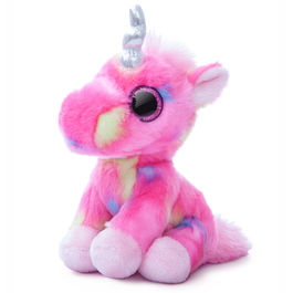 Plush Toy Unicorn Pink Candies Aurora 18cm