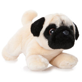 Plush Toy Pug Luv to Cuddle 28cm