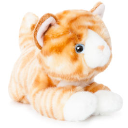 Plush Toy Cat Orange Luv to Cuddle 28cm