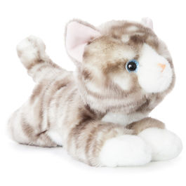 Plush Toy Cat gris Luv to Cuddle 28cm