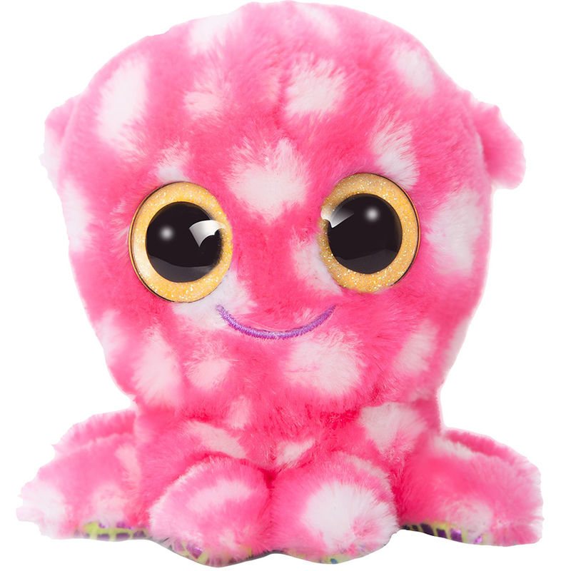 Peluche Pulpo Yoohoo & Friends ojos brillantes 13cm