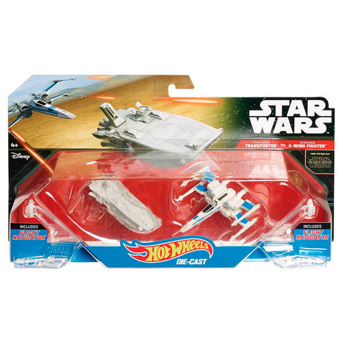 Blister First Order Transporter Ala X Star Wars Hot Wheels