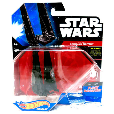 Hot Wheels Star Wars Kylo Ren's Command Shuttle