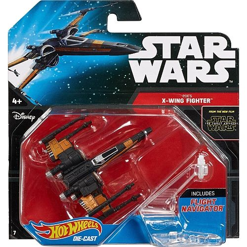 Poe's X-wing Fighter Hot Wheels